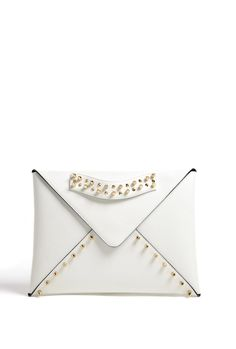 Exclusive Edgy envelop with Gold Studs by Aila