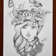 """18 curtidas, 7 comentários - Gisele Marques (@gisamarqs) no Instagram: """"Desenho em grafite.  #arte #desenho #grafite #creative #artist #inspiration #art #drawing #artpost…"""""""