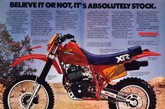 https://flic.kr/p/qXAa4r | 1983 Honda XR500R Ad