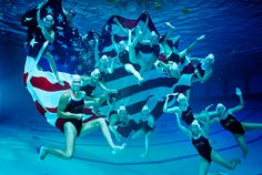 USA Olympic Water Polo team. Pur team should take pictures like this! :D