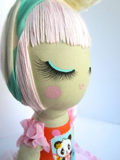 Priceless+Handmade+Doll+Made+to+Order+by+MendbyRubyGrace+on+Etsy,+$100.00