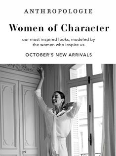 3 inspiring women, 100s of new arrivals. - Anthropologie