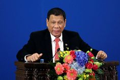 """As President Rodrigo Duterte announced his """"separation"""" from the United States and sought to strengthen ties with China, he said he will also talk to Russia's Vladimir Putin."""