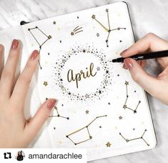 "1,996 Likes, 5 Comments - LauraDC (@bulletjournalers) on Instagram: ""Loooove this. Happy April everyone! ☔️ credit to @amandarachlee"""