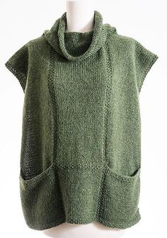 Hand knit Tunic sweater grey e |