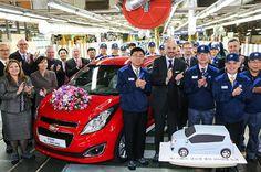 한국지엠, 창원공장 2009년 1호차 생산 이후 4년 만에 글로벌 생산 100만대 돌파