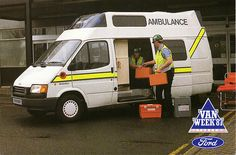 1987 Ford Transit SVO Integral Van Ambulance