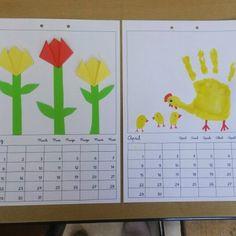 """113 Likes, 3 Comments - @laminierprinzessin on Instagram: """"Hier noch die Kalenderbilder von März und April. In den Mai kleben wir ja dann die Sonne mit dem…"""""""