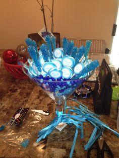 Blue Candy Centerpiece I made!!!