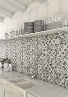 Decorative Kitchen Splash Back Wall Tiles