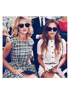 Prettiest Instagrams of the Week: Rosie Huntington-Whiteley and Riley Keough front row at Dior
