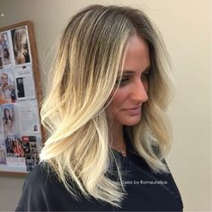 #blondhair #luzes #highlights #haircut by @romeufelipe @belximenes