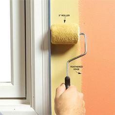 Here& Family Handyman& 10 tips for a perfect paint job straight from professional painters! For example, should you paint the trim or the walls first? The answer might surprise you.