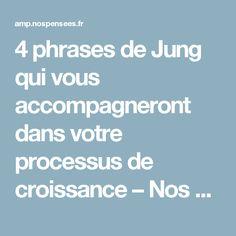 4 phrases de Jung qui vous accompagneront dans votre processus de croissance – Nos Pensées