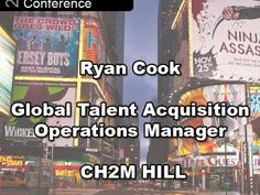 Recruiter 3.0, Welcome to the Future!  Keynote from Ryan Cook of CH2M HILL