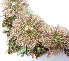 Roseate Bloom Necklace- detail | Flickr - Photo Sharing!
