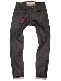 Black Selvedge Raw Denim American Made Jeans   Williamsburg