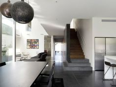 interieur essbereich treppen architektenhaus doomney