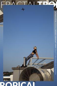 #tropical #pattern #prints #session in #Kraków #Cracov #fractal #fashion #industrial vs #tropic