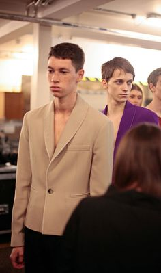 J.W. ANDERSON SPRING/SUMMER 2015 AT LONDON COLLECTIONS MEN