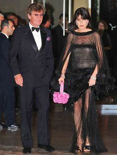 Princess Caroline and her husband Prince Ernst August of Hanover at the Red Cross Ball in Monaco,  2008