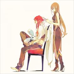 Mieu, Luke & Tear - Tales of the Abyss