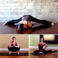 Stretches for tight hips (hip flexers, t-band, sciatica).