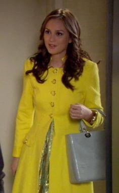 Blair Waldorf has so many colourful coats.
