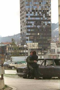 SARAJEVO during the war, early 90s.