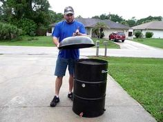 UDS Ugly Drum Smoker - BBQ - how to build one, great for our first home and we are poor! Or a gift idea for Father's Day!