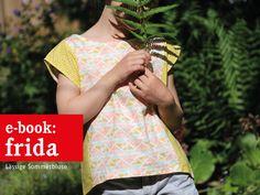 Nähanleitung für eine Sommerbluse / diy sewing instruction: summerly blouse by fritzi-selbermacher via DaWanda.com