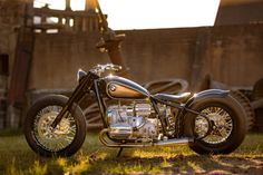 Vintage Meets Custom: The BMW R5 Hommage, a 21st century tribute to one of the most iconic motorcycles of all time.