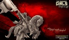 Update Update – (May not be SFW): Mounted Knights (Sisters - F) + Harpies (Dark Elves - F) + Skinners (Lust Elves - SF) · Light and Darkness Elf Images, Empire, 28mm Miniatures, Tough Girl, Dark Elf, Miniture Things, Knights, Elves, Lust