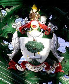 Glasgow Coat of Arms Kelvin Bridge
