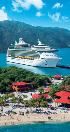Parallel parking, Labadee-style.