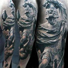 Male Full Sleeves Hro Killing Evil Realistic Tattoo   tatuajes | Spanish tatuajes  |tatuajes para mujeres | tatuajes para hombres  | diseños de tatuajes http://amzn.to/28PQlav
