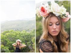 Senior Photography, Head piece, Dreamy whimsical senior,  Photos by Jnwphotos