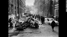 IRA bombing in London. Bomb drills in school...
