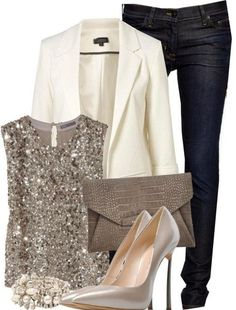Classy Christmas Outfit Idea