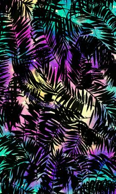 Palms galaxy wallpaper I created for the app CocoPPa!