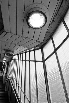 Paris underground corridor