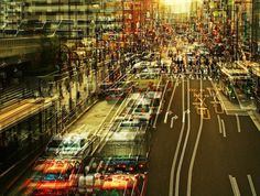 Hectic Cityscape Photography in Japan by Stephanie Jung