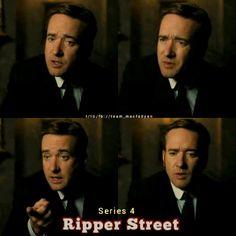 Matthew Macfadyen and Edmund Reid doing hand porn. Ripper Street