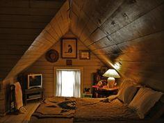 I want an attic bedroom.