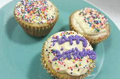 Easy Homemade Funfetti Cupcakes