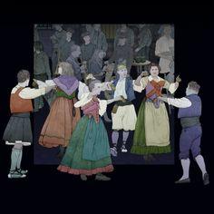 Danses / Danzas Painting, Art, Museum, Party, Pictures, Painting Art, Paintings, Kunst, Paint