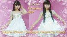 904641037b DIY  Sailor Moon Princess Serenity Inspired Summer Daily Dress(easy)  Cosplay Diy