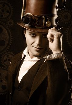 Victorian Steampunk Makeup | clockpunk is characterized by the gear whether the steampunk carries a ...