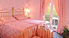 Pink room from Hotel Continental #Barcelona