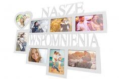 Ramka multirama na zdjęcia Nasze Wspomnienia 8 zdjęć